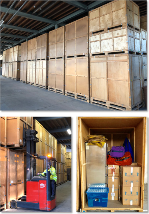 Secure Containerised Storage Facility